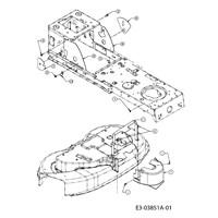 Yardman Lawn Mower Deck Belt Diagram